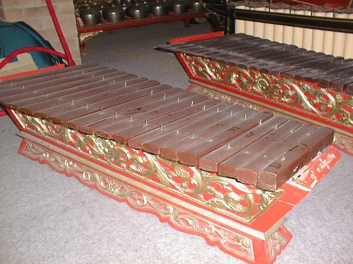 Gamelan - a musical instrument like a marimba